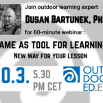 Game as a tool for learning - New way for your lesson